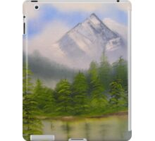morning in the mountains iPad Case/Skin