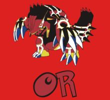 Groudon - Omega Ruby by Chocobowarrior