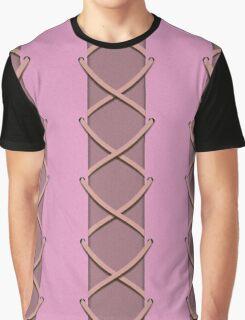 Rapunzel Princess Corset Dress Inspired Graphic T-Shirt