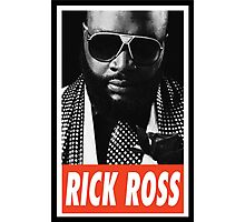 (MUSIC) Rick Ross Photographic Print