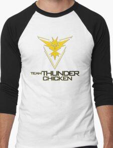 Team Thunder Chicken Men's Baseball ¾ T-Shirt