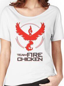 Team Fire Chicken Women's Relaxed Fit T-Shirt