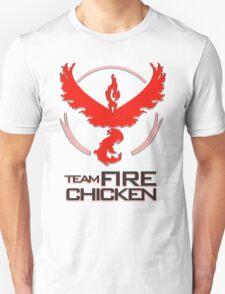 Team Fire Chicken Unisex T-Shirt