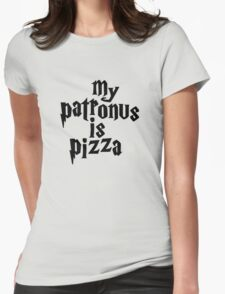 my patronus is a pizza Womens Fitted T-Shirt