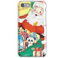 Vintage Santa with Toys iPhone Case/Skin