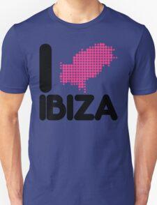 I Love Ibiza Quote Unisex T-Shirt