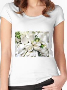 Roses-4- Me Women's Fitted Scoop T-Shirt