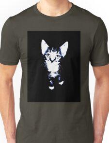 Cute Kitten Design Unisex T-Shirt