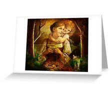 MOTHER AND ME 2 Greeting Card