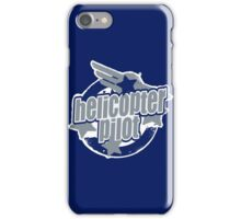 Helicopter pilot iPhone Case/Skin
