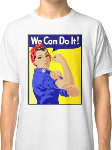 We Can Do It Feminist Classic T-Shirt