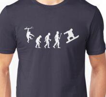 Funny Snowboarding Evolution Shirt Unisex T-Shirt