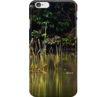 Blue Pool reflections III iPhone Case/Skin
