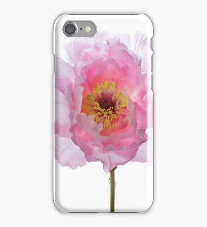 Pink Tree Peony iPhone Case/Skin