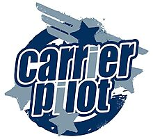 Carrier Pilot Photographic Print