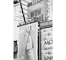 New York City Times Square 2000 Advertising Billboards Photographic Print