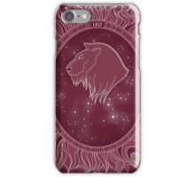 Leo - Zodiac fire sign iPhone Case/Skin