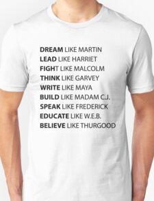 Black Lives Matter Unisex T-Shirt