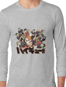 Haikyuu!! Anime Long Sleeve T-Shirt