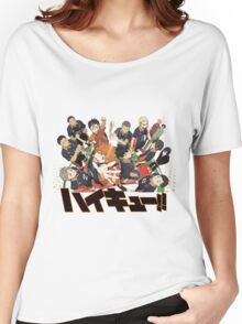 Haikyuu!! Anime Women's Relaxed Fit T-Shirt
