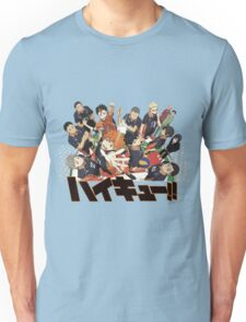 Haikyuu!! Anime Unisex T-Shirt