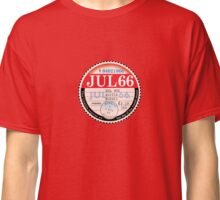England World Cup 1966 Tax Disk Classic T-Shirt