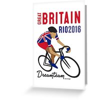 Olympics Great Britain Cycling Greeting Card