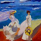 A Stroll on the Beach by Rusty  Gladdish