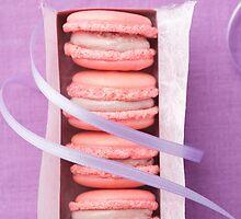 Pink macarons by Elisabeth Coelfen