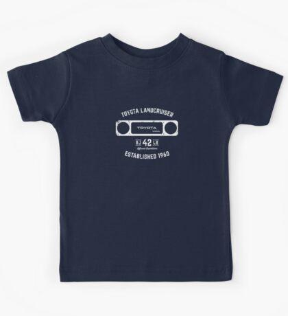 Toyota 40 Series Landcruiser BJ42 Square Bezel Est. 1960 Kids Tee