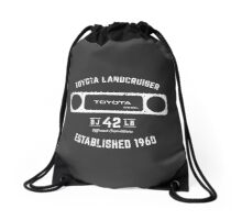 Toyota 40 Series Landcruiser BJ42 Square Bezel Est. 1960 Drawstring Bag
