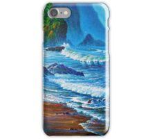 Crisp Morning light Wakens the Misty Coast iPhone Case/Skin