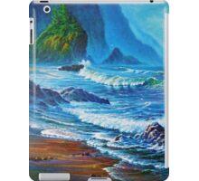 Crisp Morning light Wakens the Misty Coast iPad Case/Skin
