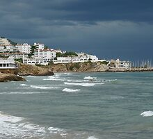 Stormy Sitges by jonvin