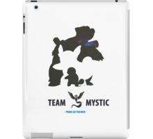 Pokemon Go Team Mystic Squirtle Evolution iPad Case/Skin