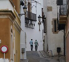 Streets Of Sitges by jonvin