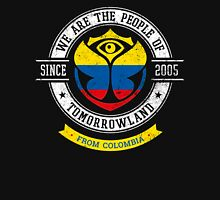 People of Tomorrowland Flags logo Badge - colombia - colombian - colombiano - colombie Unisex T-Shirt