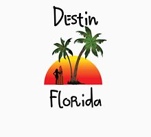 Destin Florida. Women's Fitted V-Neck T-Shirt