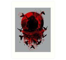 Ninja Clash Art Print
