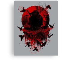 Ninja Clash Canvas Print
