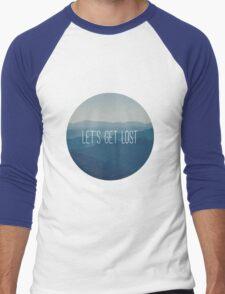 Let's get lost Men's Baseball ¾ T-Shirt