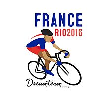 Olympics France Cycling Photographic Print