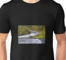 River rapids and white water Unisex T-Shirt
