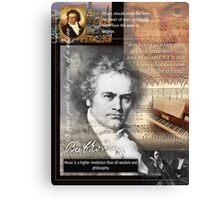 mozart beetoven Canvas Print