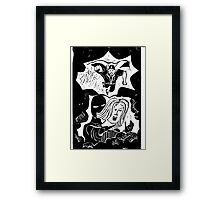 Historicity - Cyclone to the rescue Framed Print