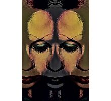 the many faces of sadness Photographic Print