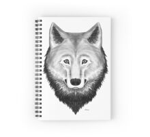 Mr. Wolf Spiral Notebook