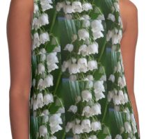 Lily of the valley Contrast Tank