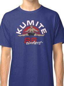 VAN DAMME - BLOODSPORT MOVIE Classic T-Shirt