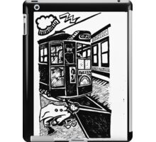 Historicity - Cyclone on the rails iPad Case/Skin